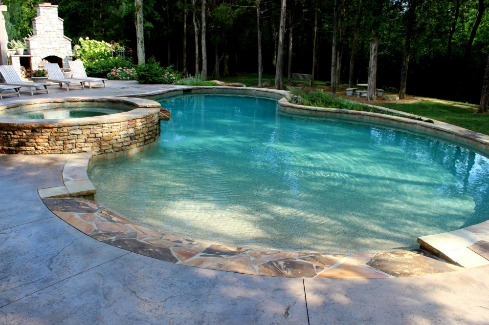 Lenoir city pool photos knoxville custom pool design for Custom swimming pool designs