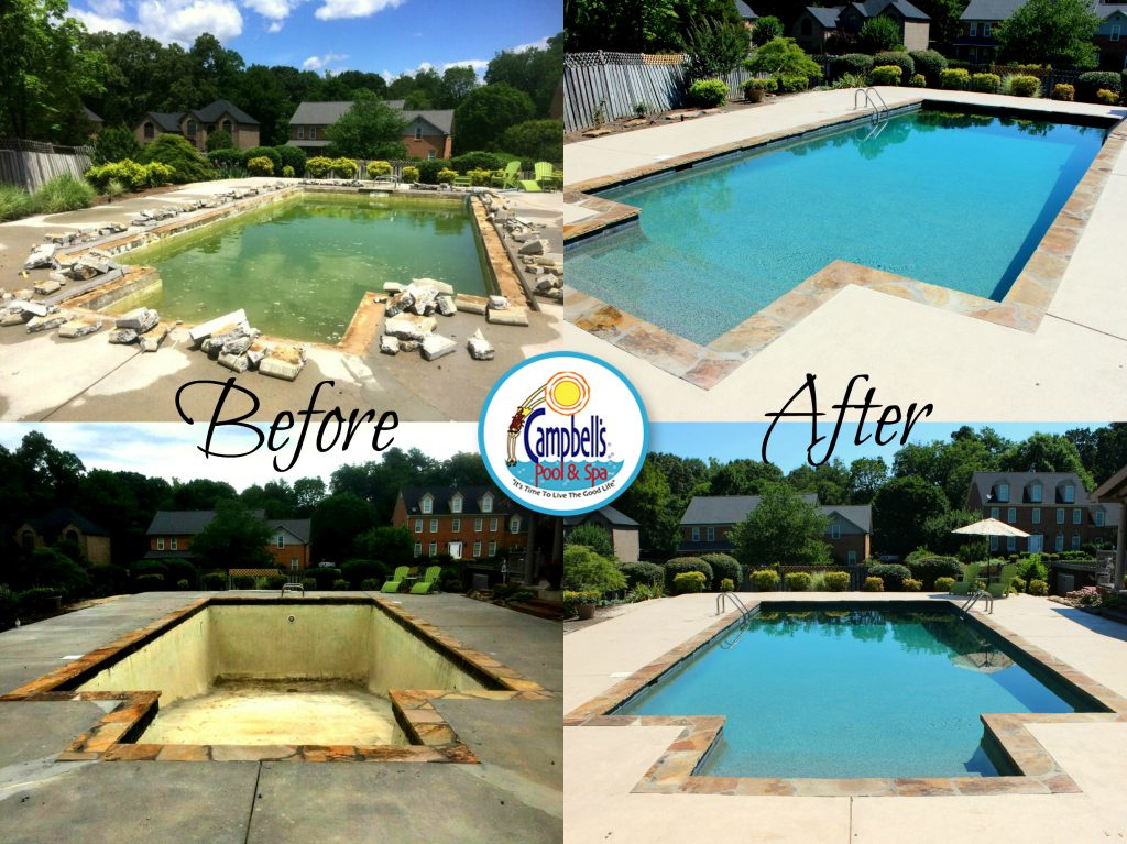 Knoxville Pool Renovation Lenoir City Remodel