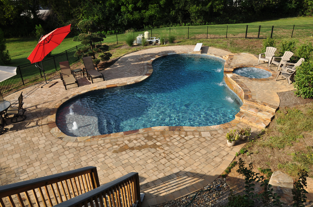 Enjoy Healthy Living With An Inground Pool Above Ground