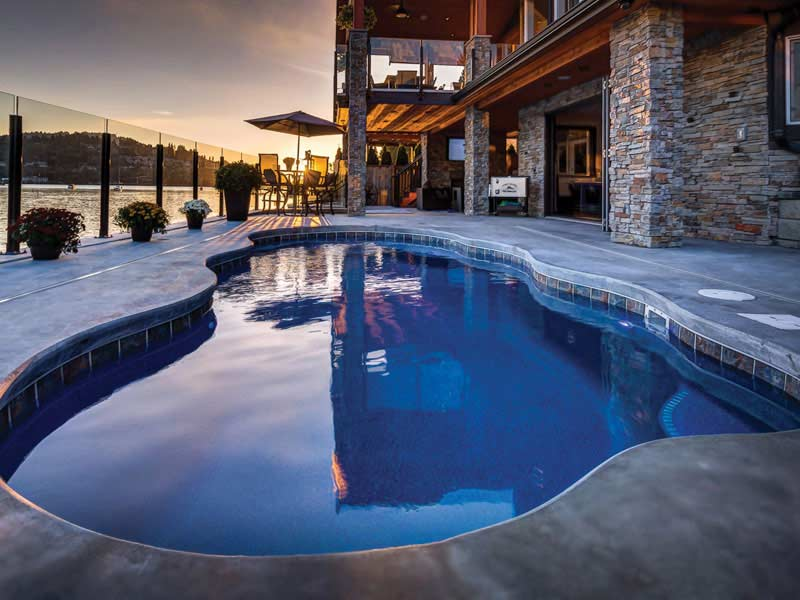 Fiberglass Pools For Every Style Knoxville East Tennessee